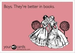 boys are better in books